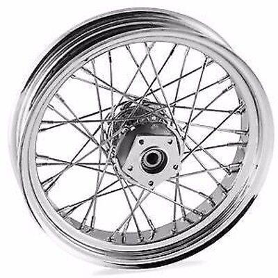 search for bikes Harley Ironhead 40 spoke 16 front wheel harley shovelhead fl flh electra glide 73 83