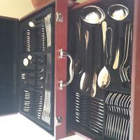 Stainless flatware 84 pieces