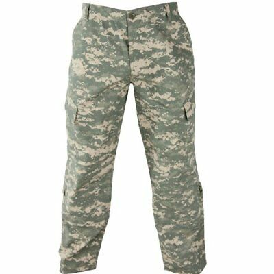 US Army Combat Uniform ACU Pants Trousers Digital Cammies used Large Regular LR