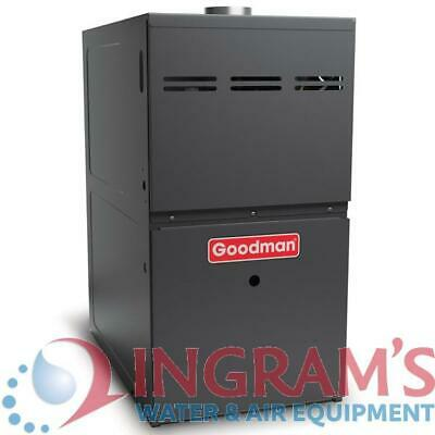 60k BTU 80% AFUE Multi Speed Goodman Gas Furnace - Upflow/Ho