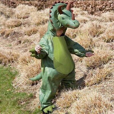 Kinder Kostüm Dinosaurier Triceratops Kostüm Alter 2-3 J / Alter 3-5 - Dinosaurier Kostüm 2 3 Jahre
