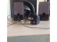 Set of Creative SBS260 speakers