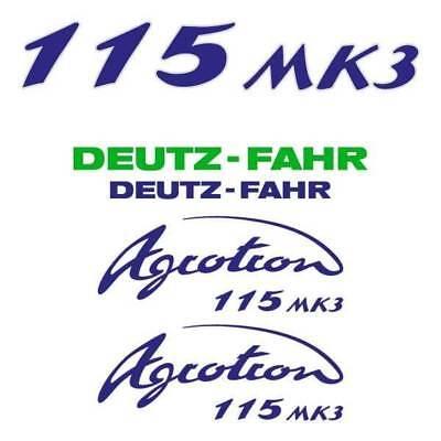 Deutz-fahr Agrotron 115 Mk3 Tractor Decal Aufkleber Sticker