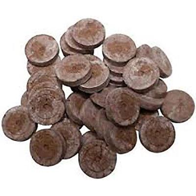 500 x Jiffy Coco / Peat  Plug Propagation Pellets, Cuttings, Seeds, Plant