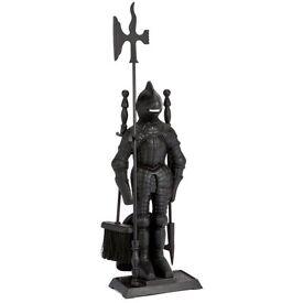 Brand new Cast Iron Knight companion set