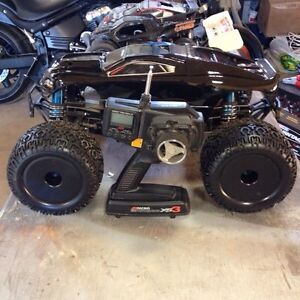 Losi lst2 Rc nitro truck not Traxxas