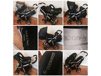 icandy Apple 2 Pear HUGE BUNDLE - Travel system - Double/twin pushchair