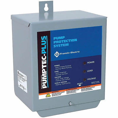Franklin Electric Pumptec Plus Motor Protection 1 2   5 Hp  230V 2 3 Wire 1P