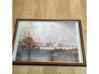 Free Item - Framed Picture - Old Dockyard