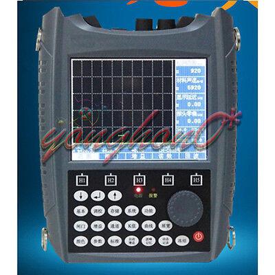 Digital Ultrasonic Flaw Detector Tester Defectoscope Sub100 06000mm Dac Curve