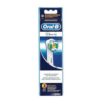 Oral b 3D White Pack 3 recambios. Blister Nuevo.