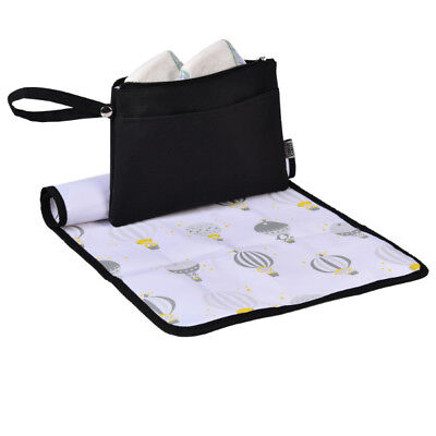 Go Anywhere Changing Wallet Baby Nappy Change Mat Kit Travel Diaper Change Bag  (Nappy Kit)