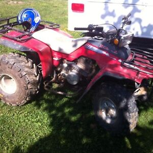 250 honda fourtrax looking to trade by tonight!