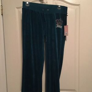 Juicy couture velour sweats small