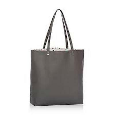 Thirty One Jewell Around Town Utility Tote Bag 31 City Charcoal Pebble Gift C