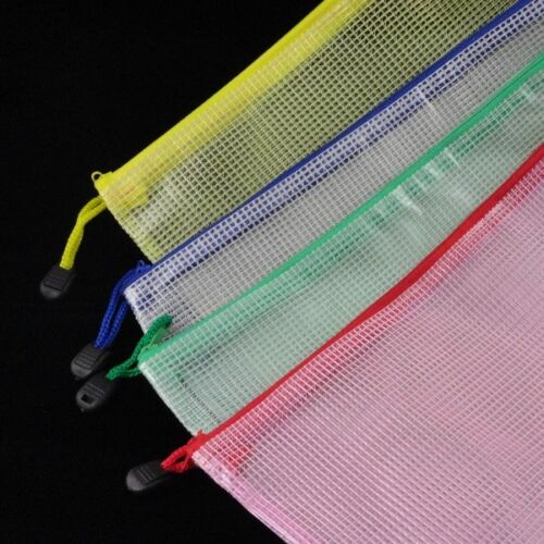 VINYL Colored Mesh Bags - Assorted Colors