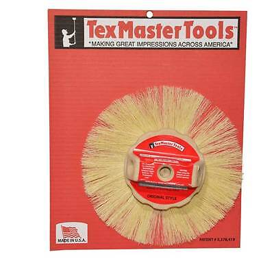 Texmaster 10 Tampico Round Stipple Brush For Drywall Texture 8829 New