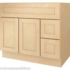 bathroom vanity base cabinet bathroom vanity drawer base cabinet maple shaker 11778