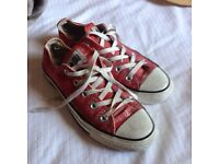 Converse All Star sneakers, ladies size4