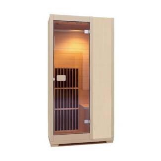 Infrared Sauna Zen Brighton 1 Person Sauna Cabin Carbon Heater