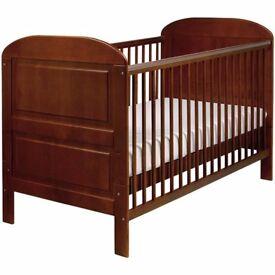 East Coast Nursery Angelina Cot Bed - Cocoa