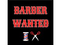 *BARBER WANTED*