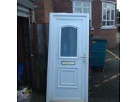 Refurbished upvc front door
