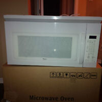 Over-the-Range Microwave Oven White