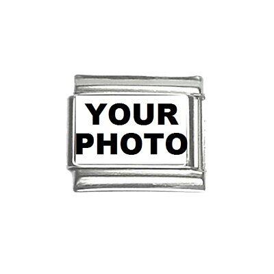 9mm Italian Charm Bracelet Link Custom Personalized Picture Photo Logo