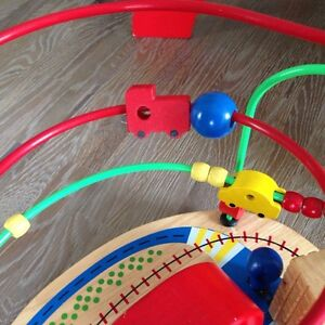 Quality Wood and Metal Traffic Bean Maze Toy London Ontario image 4