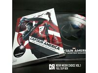 Captain America Nova Media Blu Ray Steelbook