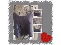 Atmosphere women's grey top size 12 and 14
