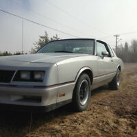 1985 Monte Carlo SS Sell or Trade