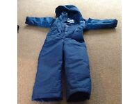 All in one snow suit