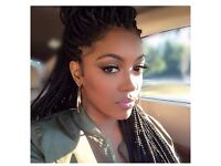 Experienced Private Afro Hairdresser for Braiding in Central London, Box Braids, Cornrows etc