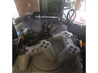 PlayStation 1 with 2 pads