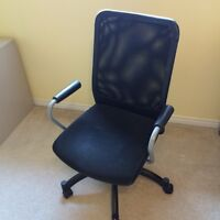 Black IKEA Chair-Great Condition