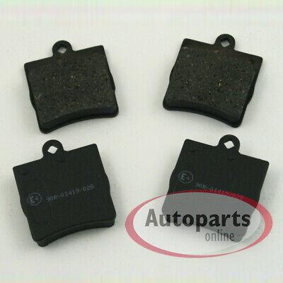 Bremsbeläge mit Warnkabel für vorne die Vorderachse Mercedes Slk R170