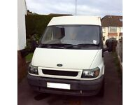 Ford Transit lwb mid roof 2.4 duratorq 2000 - spares or repair