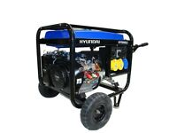 Hyundai HY9000LEk 6.6kw electric start petrol generator