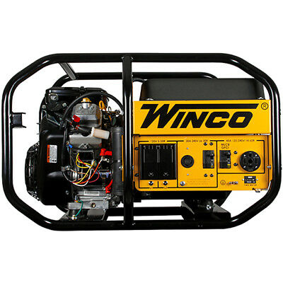 Winco W10000ve - 9600 Watt Electric Start Portable Generator
