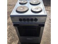 Silver beko electric cooker 50cm