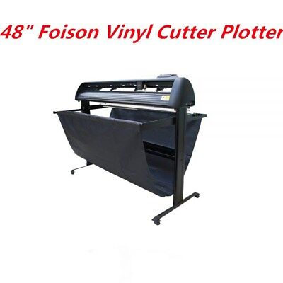 48 Foison Vinyl Cutter Plotter For Cutting Pictures Letters Stickers