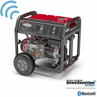 Briggs Stratton 30679 - 8000 Watt Electric Start Portable Generator W Blue...