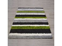 Nordic Channel Shaggy Rug 160x230