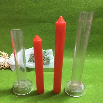 2Pcs Plastic Church Top Candle Mold Soap Mould DIY Craft Handmade Gift Tools