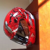Motorcycle helmet gloves and jacket for sale