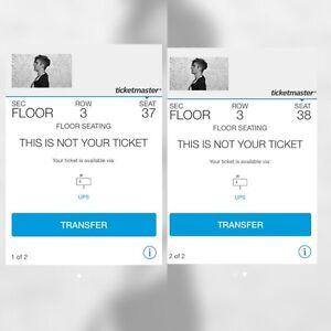 VIP Justin Bieber Concert Tickets for Edmonton June 14 2016