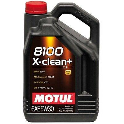 Usado, MOTUL 8100 X-CLEAN 5W30 Car Synthetic Engine Oil - 5L P/N 106377 comprar usado  Enviando para Brazil