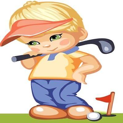 30 Custom Golf Boy Personalized Address Labels